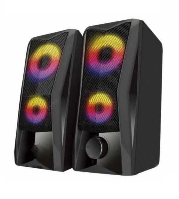 Caixa de Som Lehmox GT-S4, USB/P2, RGB