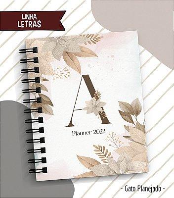 Planner Letras - Tradicional