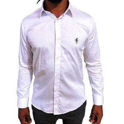 Camisa Slim Fit Branca