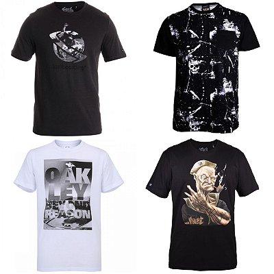 Camisetas de Marcas Surf Masculinas no Atacado - Lote de 03 até 50 peças