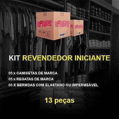 Kit Revendedor Iniciante 05 Camisetas + 05 Regatas + 03 Bermudas