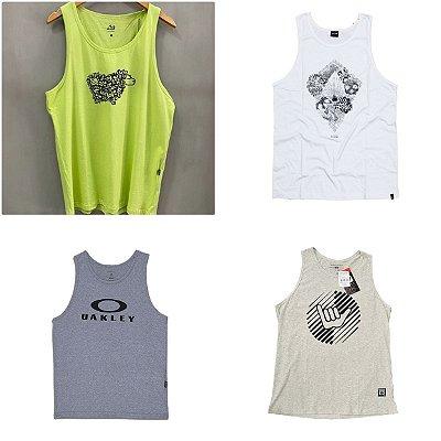Camisetas Regatas Marcas Surf no Atacado - Lotes de 03 a 50 peças