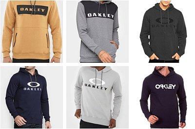 Blusa Moletom Oakley 3 Cabos no Atacado - Premium - Lotes de 03 a 20 peças