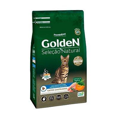 Ração Golden para Gatos Adultos Castrados Seleção Natural Abóbora 10.1kg