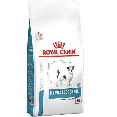 Ração Royal Canin Hipoalergênica Small Dog Hypoallergenic Cães Adultos 7,5KG
