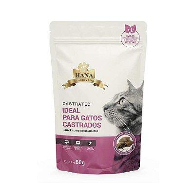 Snack Hana Nuggets para Gatos Castrados 60g