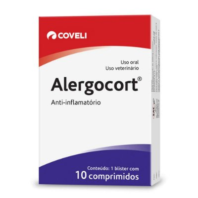 Alergocort Coveli 10 Comprimidos 200mg