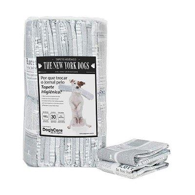 Tapete Higiênico 60x70 Para Cães The New York Dogs - 30 Unidades