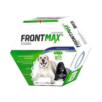 Coleira Anti-Pulgas Frontmax para Cães Acima de 4kg