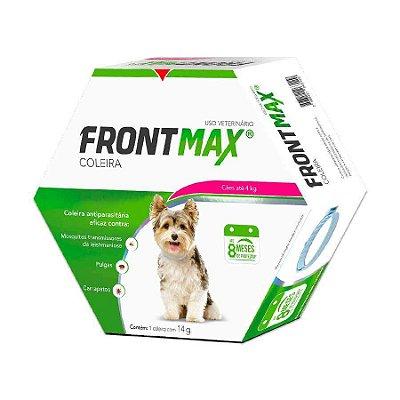 Coleira Anti-Pulgas Frontmax para Cães até 4kg