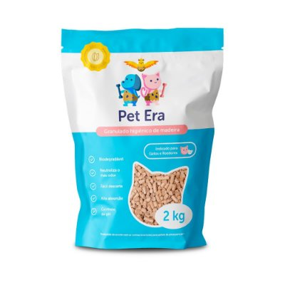 Granulado Higienico para Gatos Pet Era 2kg