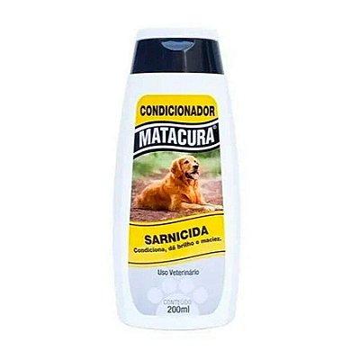Condicionador Sarnicida Matacura para Cães 200ml