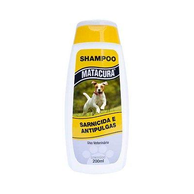 Shampoo Matacura Sarnicida e Anti-Pulgas para Cães
