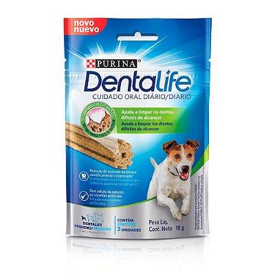Snack Purina Dentalife: petisco antitártaro 18g