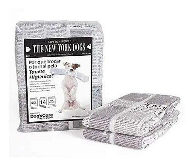 Tapete Higiênico 55x60 Para Cães The New York Dogs - 14 Unidades