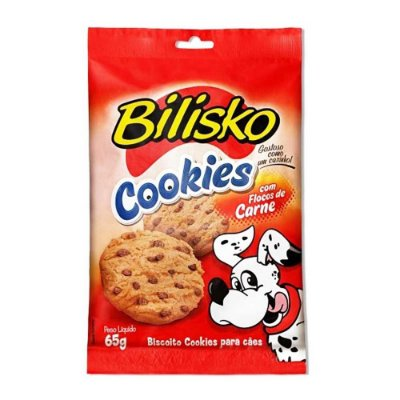 Bilisko Cookies de Carne para Cães 65g