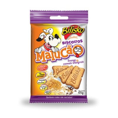 Biscoito Malucão Bilisko 65g