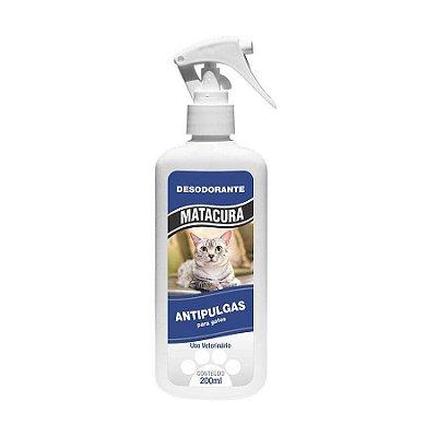 Desodorante Antipulgas Matacura para Gatos 200ml
