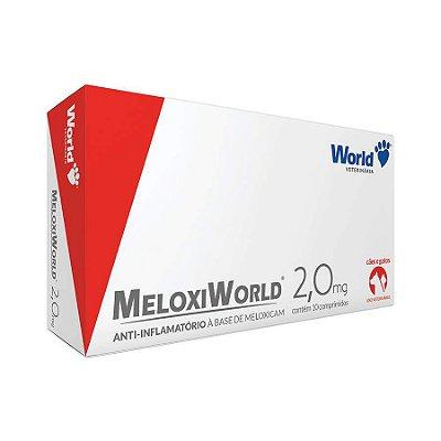 Anti-inflamatório MeloxiWorld 2,0mg Cães e Gatos de 20kg