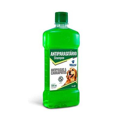 Shampoo Antiparasitário Dug's World para Cães 500ml