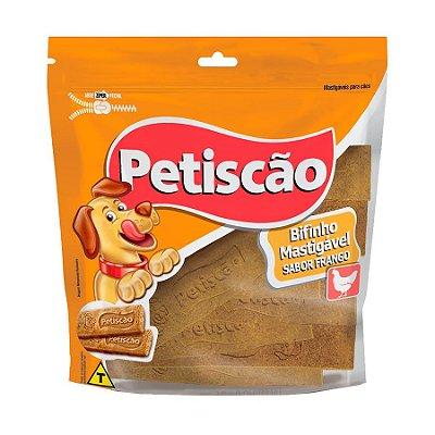 Snack Petiscão Para Cães Bifinho Sabor Frango 250g