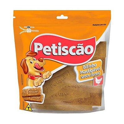 Snack Petiscão Para Cães Bifinho Sabor Frango 500g