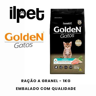 Ração Granel Golden Gatos Filhotes Sabor Frango 1kg
