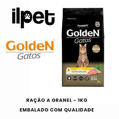 Ração granel Golden para Gatos Adultos Sabor Frango 1 kg