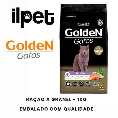 Ração Granel Golden para Gatos Adultos Sabor Salmão  1kg