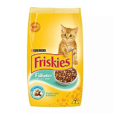 Ração Friskies para Gatos Filhotes Sabor Frango Leite e Cenoura - 1kg