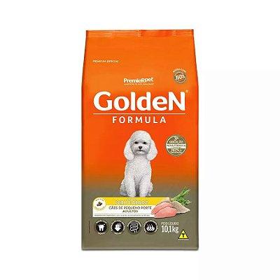 Ração Fórmula Golden Para Cães Adultos De Porte Pequeno Sabor Peru E Arroz 10.1kg