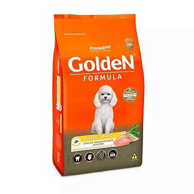 Ração Fórmula Golden Para Cães Adultos De Porte Pequeno Sabor Peru E Arroz 3,0 Kg