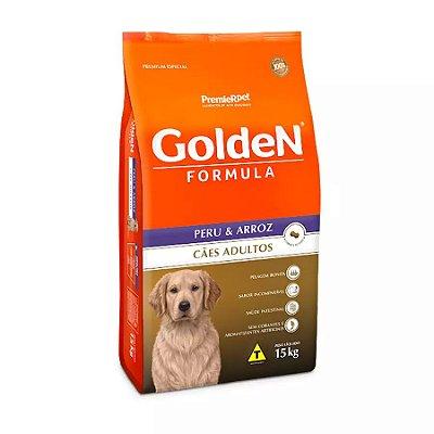 Ração Fórmula Golden Para Cães Adultos Sabor Peru E Arroz 15kg