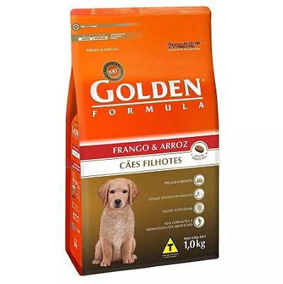 Ração Golden Filhote Sabor Frango e Arroz para Cães 1kg