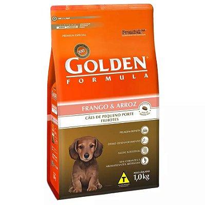 Ração Golden Fórmula Mini Bits para Cães Filhotes de Pequeno Porte Sabor Frango e Arroz 1kg