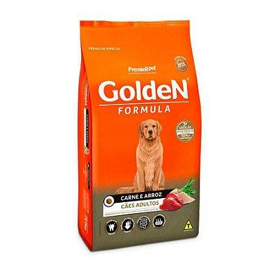 Ração Golden Fórmula para Cães Adultos Sabor Carne e Arroz 3kg