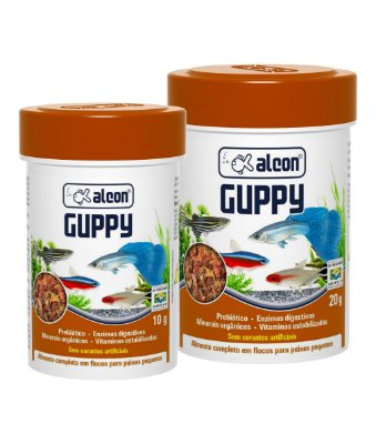 Alimento Alcon Guppy 20g