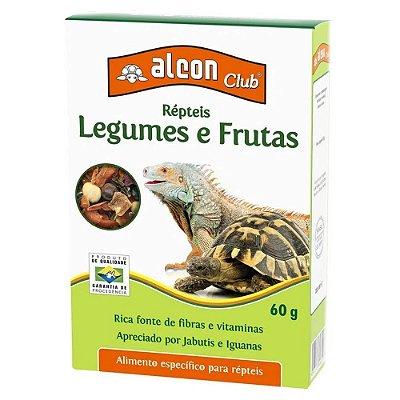 Ração Alcon Club Repteis Legumes E Frutas 60g