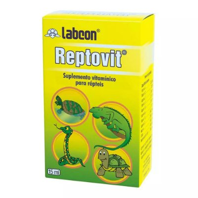 Suplemento Alcon Labcon Tartaruga Reptovit 15ml
