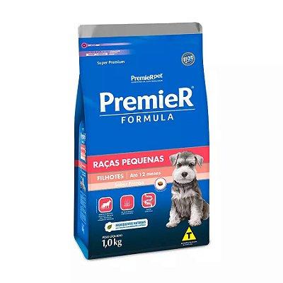Ração Premier Fórmula para Cães Filhotes de Raças Pequenas Sabor Frango 1kg