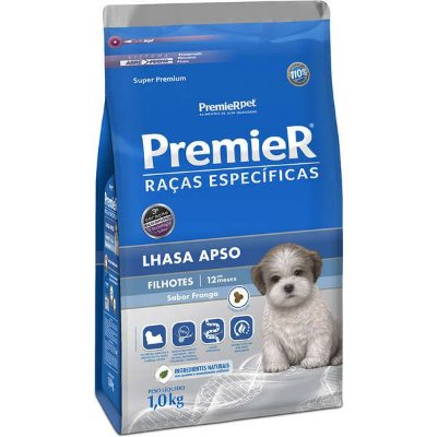 Ração Premier Lhasa Apso Filhote Ração Raças Específicas Para Cães 1 Kg