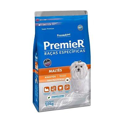 Ração Premier Raças Específicas Maltês Para Cães Adultos 1 Kg