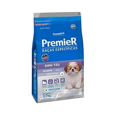Ração Premier Raças Específicas Shih Tzu para Cães Filhotes 2,5kg