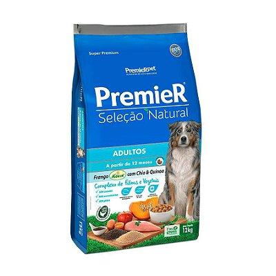 Ração Premier Seleção Natural para Cães Adultos Sabor Quinoa 12kg