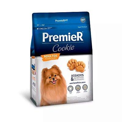 Biscoito Premier Cookie Para Cães Adultos De Raças Pequenas 250g