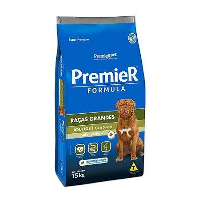 Ração Premier Fórmula Para Cães Adultos De Raças Grandes Sabor Cordeiro - 15kg