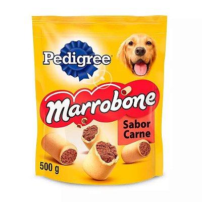 Biscoito Pedigree Biscrok Marrobone Para Cães Adultos Sabor Carne 500g