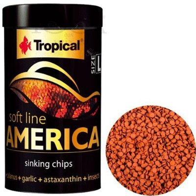 Alimento Tropical  Soft Line America Size Large 130g