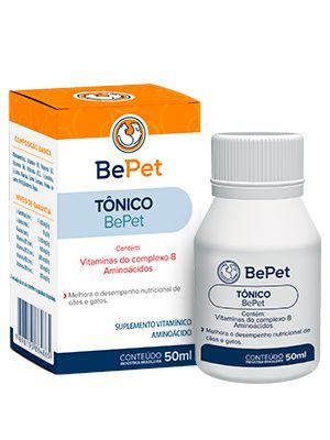 Bepet Tônico Com Vitamina Do Complexo B E Aminoácido - 50ml