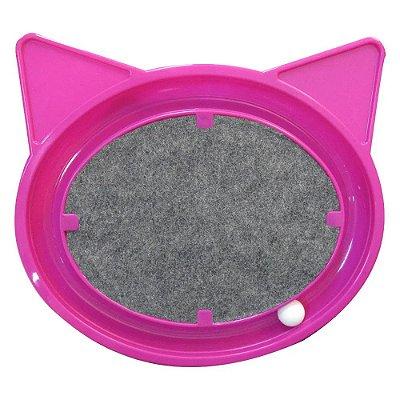 Brinquedo Arranhador Relax Pop Furacão Pet Para Gatos Rosa